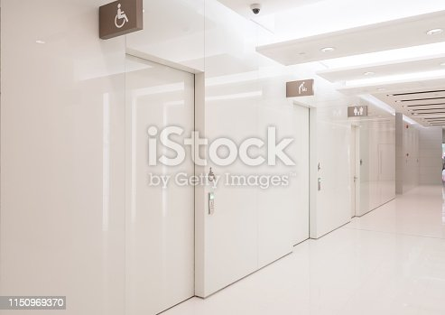 187200991 istock photo Entrance hall and empty floor tile, interior space 1150969370