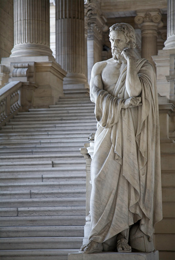 Entrance Hall Of Brussels Courthouse Stock Photo - Download Image Now