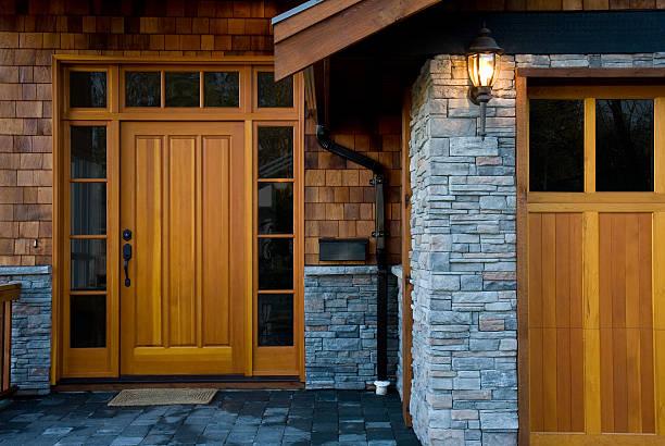 Entrance,  New West Coast Home