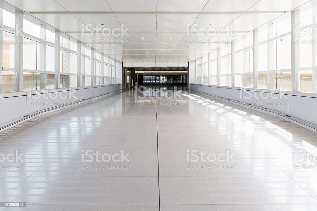 entrance of a building stock photo