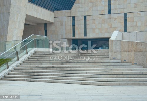 istock Entrance of a modern building 478109221
