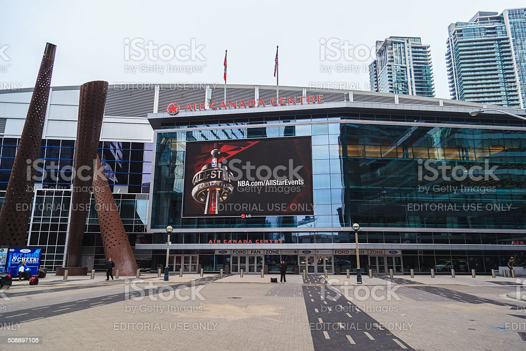 Entrance of Air Canada Centre (ACC). stock photo