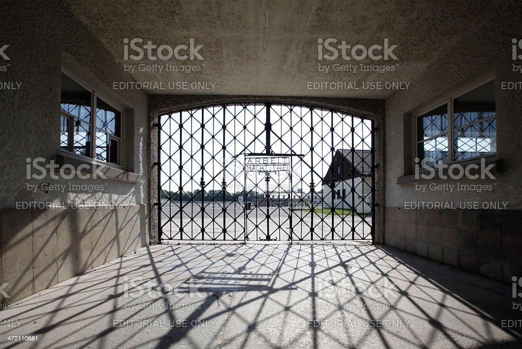Eingang der Konzentrationslager Dachau – Foto
