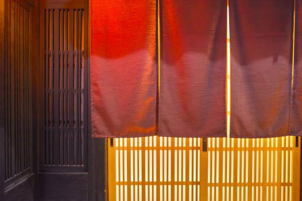 日本食レストランの入り口 - 和食 ストックフォトと画像