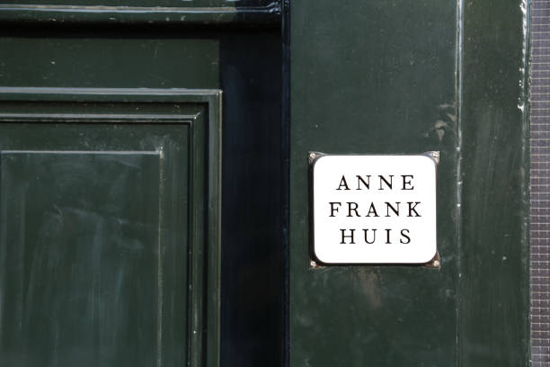 Eingang des Anne Frank Hauses – Foto