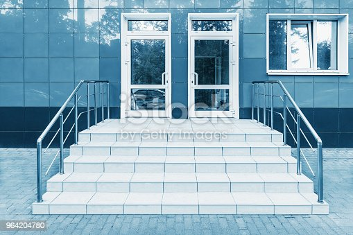 178842131 istock photo Entrance of the office building. 964204780
