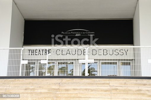 cannes, france, 27.03.2017, theatre claude debussy,