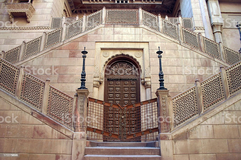 \'Entrance at Junagarh Fort in Bikaner in Rajasthan, India.\'