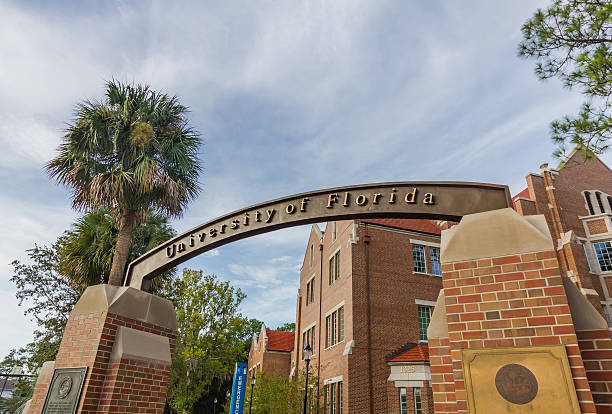 Entrance Sign at the University of Florida