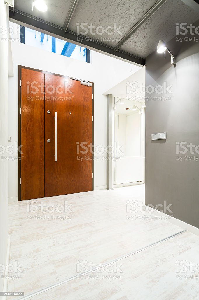 Entrance to a stylish apartment foto royalty-free