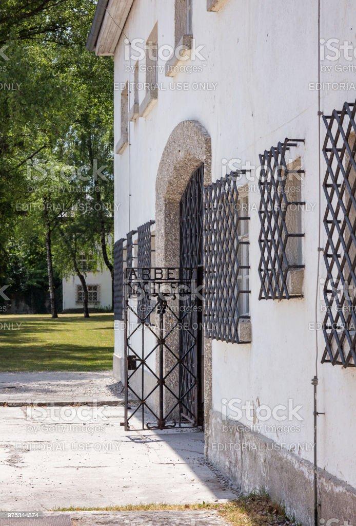 Eingang nach Dachau – Foto