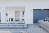istock Entrance to detached house 470147840