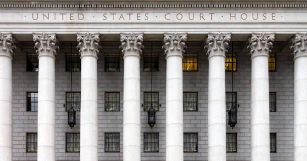 giriş tarihi abd court house new york city için - adalet sarayı stok fotoğraflar ve resimler
