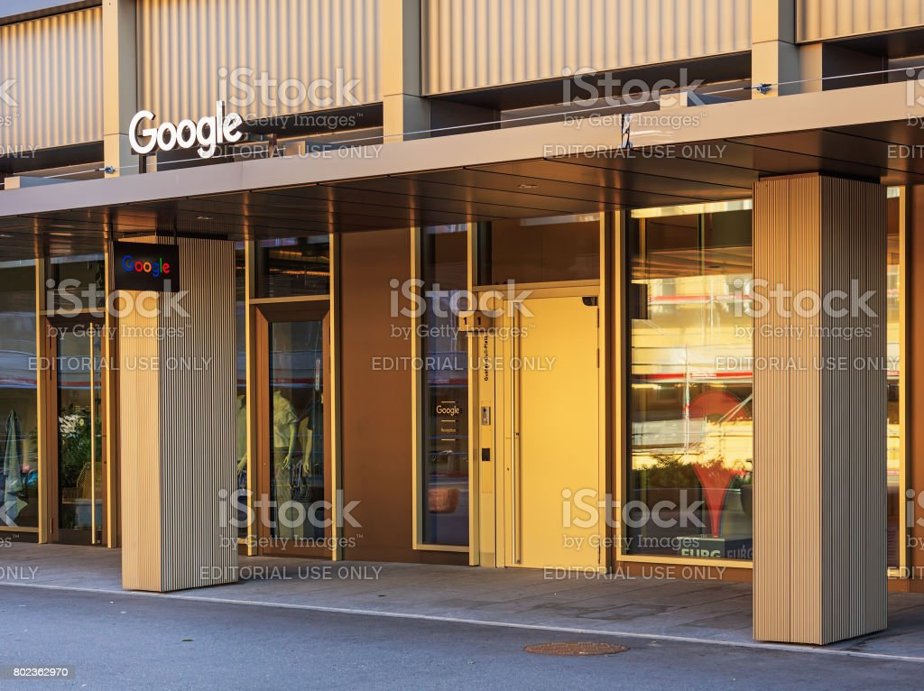 Google office switzerland Room Entrance To The Office Of The Google Company On Gustav Gull Square In Zurich Switzerland Stock Image Istock Entrance To The Office Of The Google Company On Gustav Gull Square