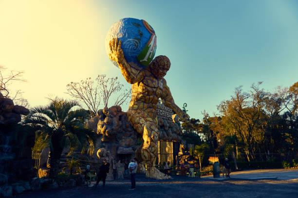 Eingang zum Park Florybal Magic Land. – Foto