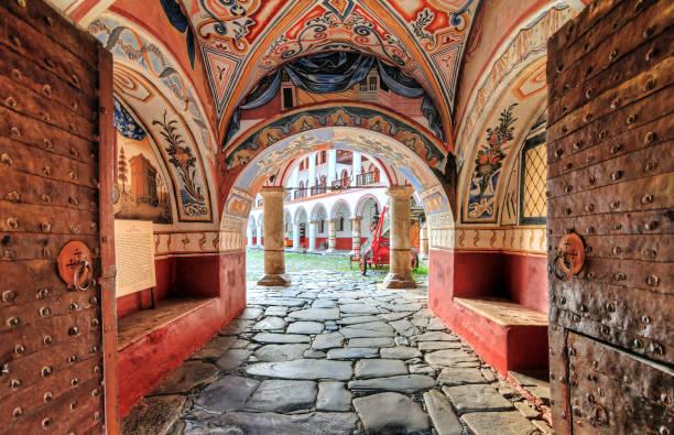 Eingang zum Kloster Rila – Foto