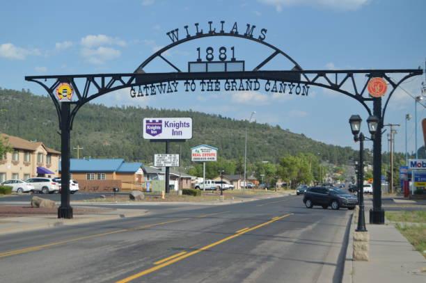Eingang zum Williams in der Nähe von Grand Canyon – Foto