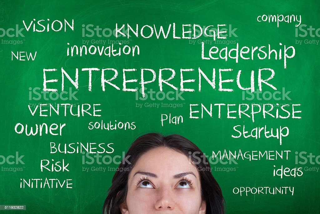 Entrepreneur stock photo
