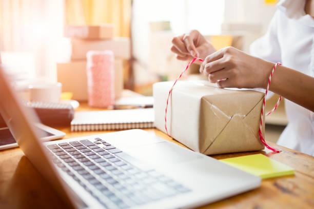 Unternehmer-Erfolg das Geschäft zu Hause. – Foto