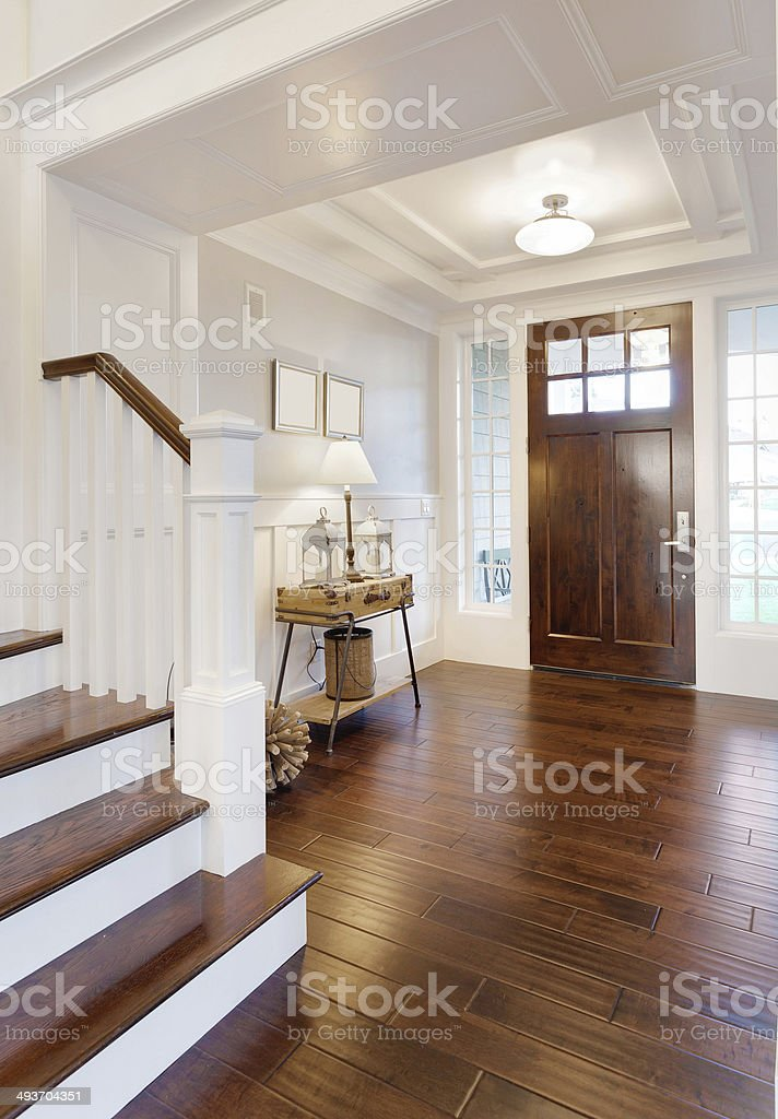 Entry in Luxury Home stock photo