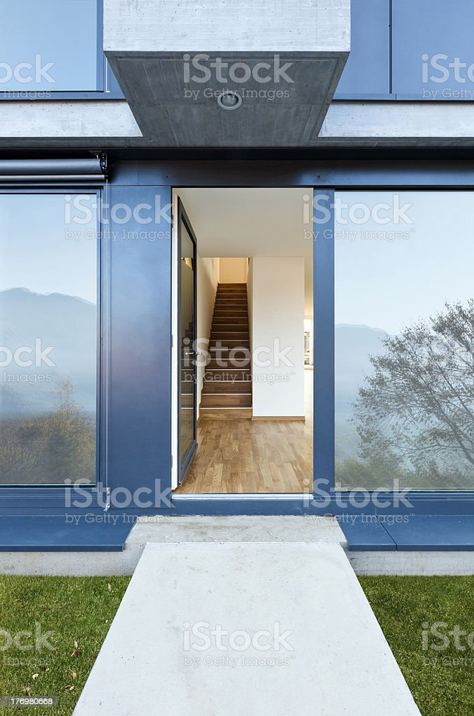 entry new apartment royalty-free stock photo