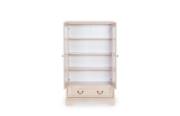 Eintrag weißen Gehäuse isoliert auf weißem Hintergrund mit Beschneidungspfad und Platz für Kopie öffnen. – Foto