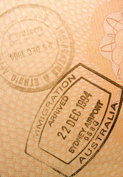 Entry stamp from australia picture id93050646?b=1&k=6&m=93050646&s=612x612&w=0&h=3sl4nxrariqfzckigtdxsbwoszbqdypnp9z rvzi6kc=