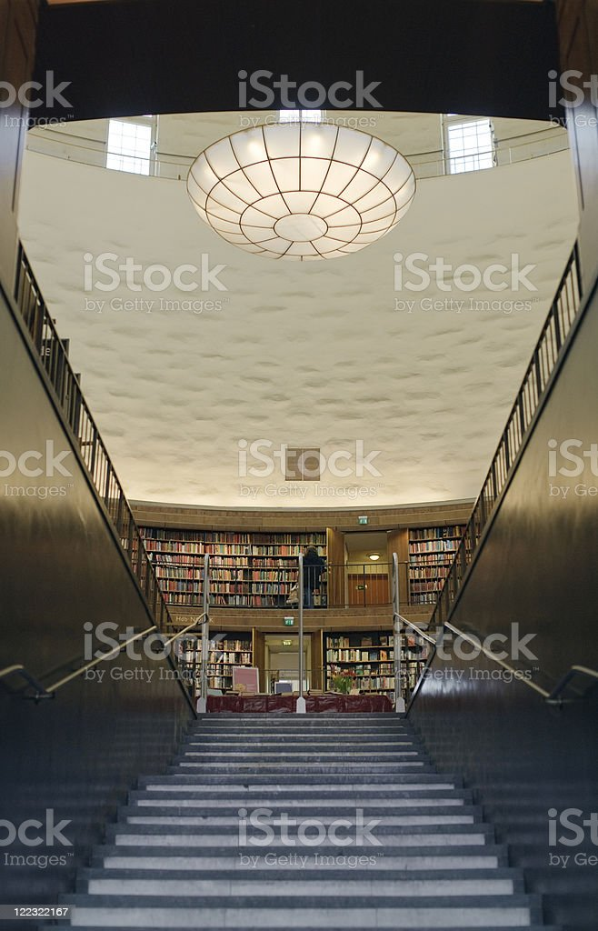 Entry to knowledge. royalty-free stock photo