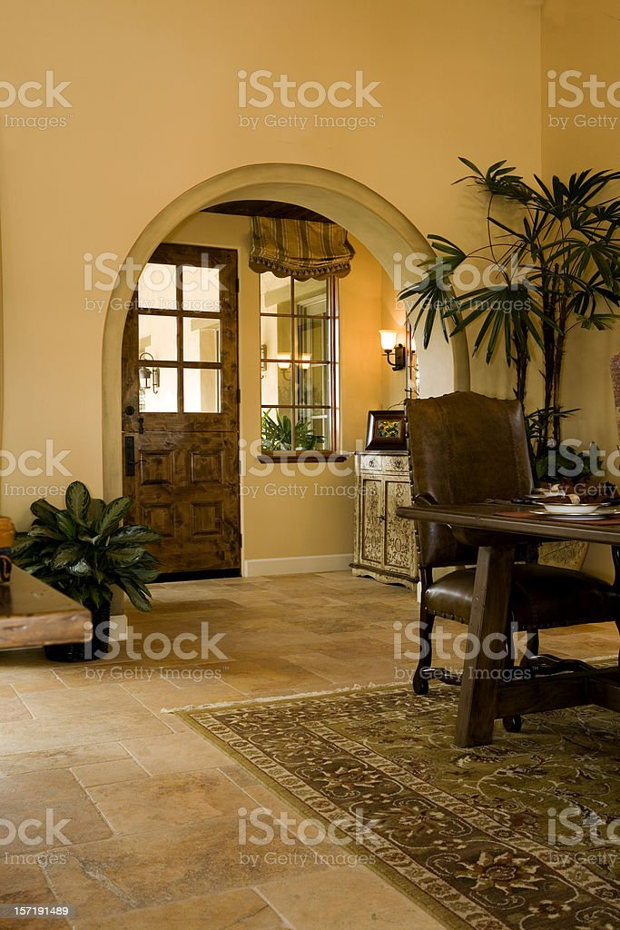 Entryway From Inside royalty-free stock photo