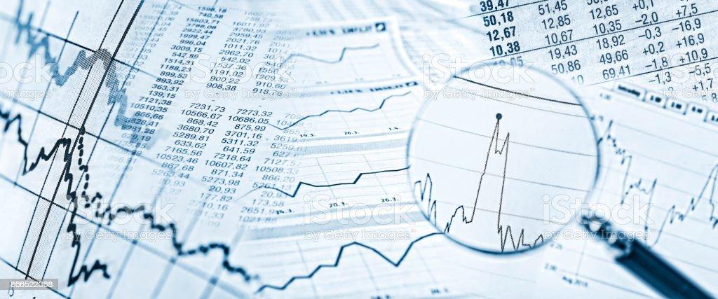 Entwicklung um den internationalen Finanzmärkten - foto de acervo