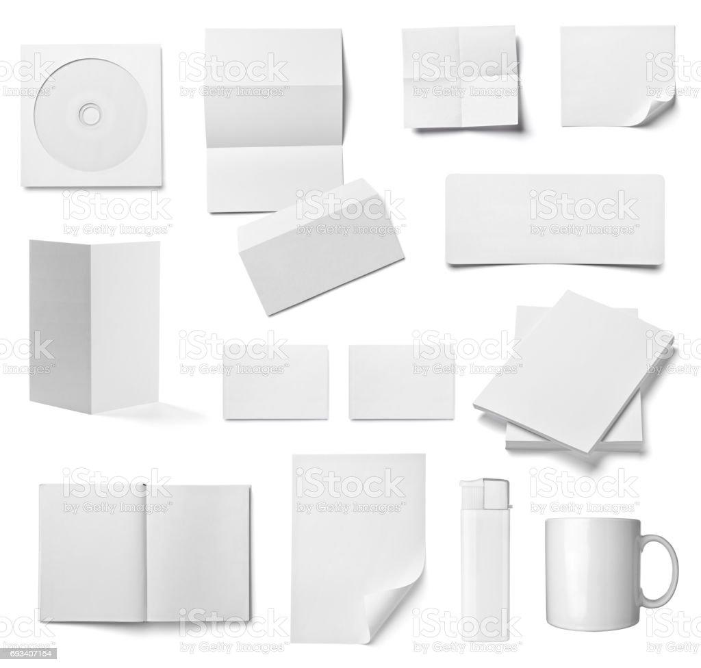 Umschlag Buch Kartengeschäft Broschüre Vorlage - Stockfoto | iStock