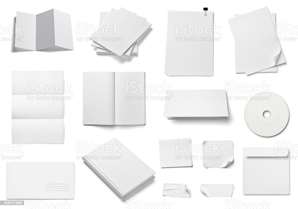 envelope book card leaflet template business stock photo