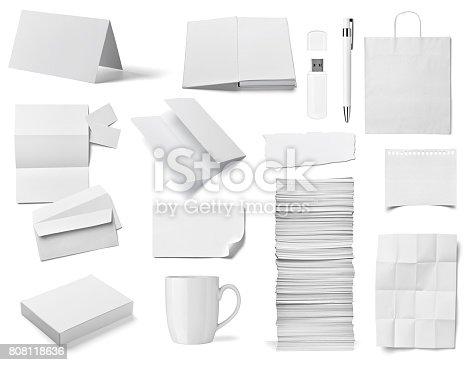 istock envelope book card leaflet template business 808118636