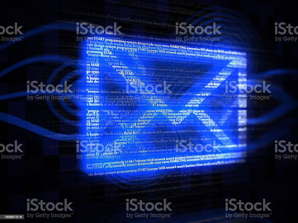 Envelope email royalty-free stock photo