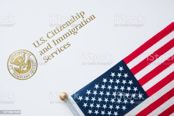 Envelope from us citizenship and immigration services with the flag picture id1072667328?b=1&k=6&m=1072667328&s=612x612&h=4b8dzqz629trtkltk2qw9iox t1sbukbysrswviztm4=