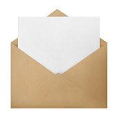 istock Envelope on white 1142570649
