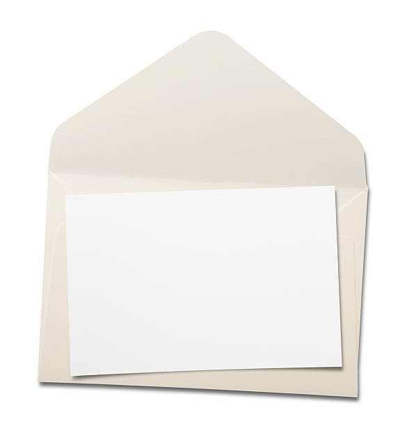 envelope - gift voucher or card stock photos and pictures