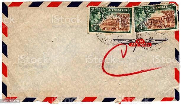 Envelope posted from Jamaica in 1951