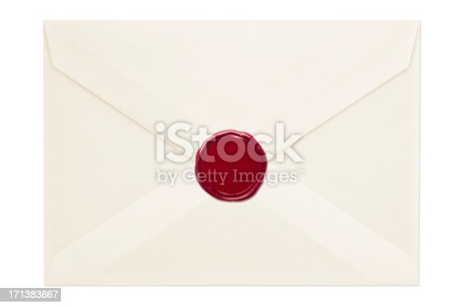 Envelope with Clipping Paths.