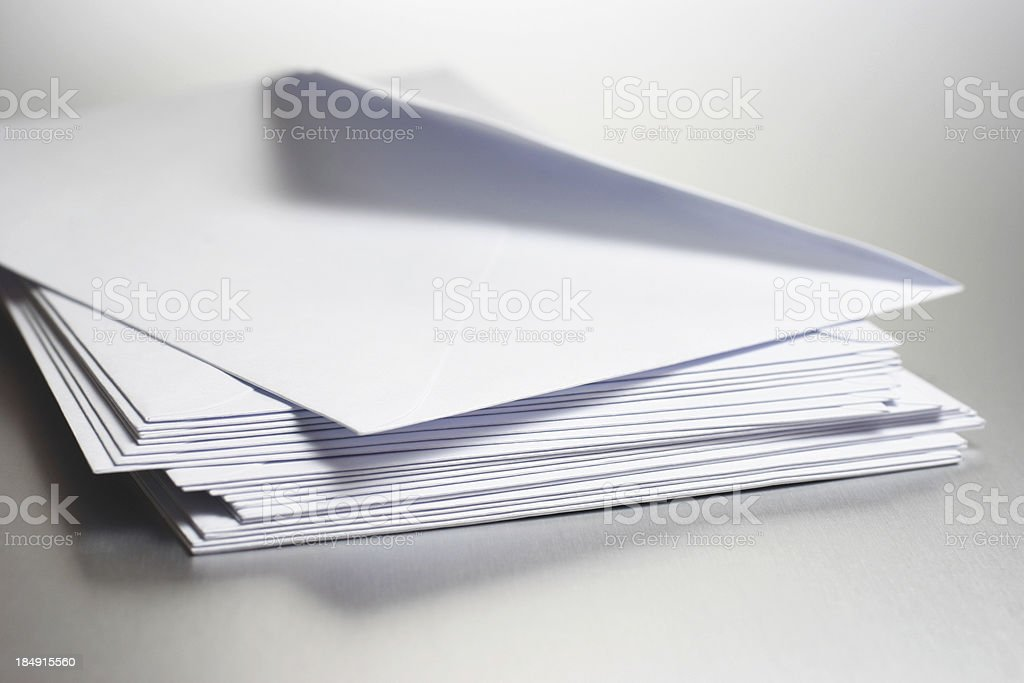 Envelops royalty-free stock photo