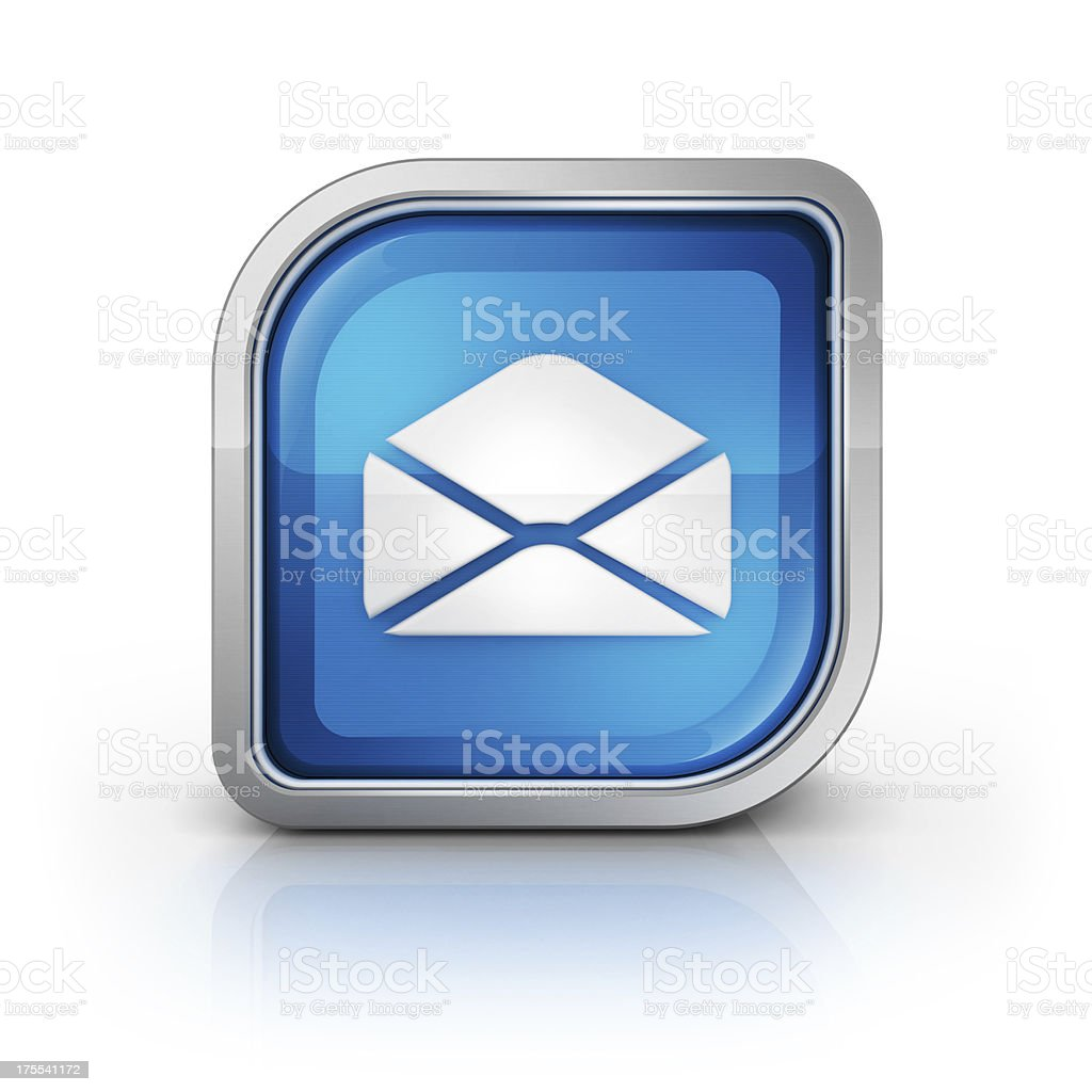 envilope mail icon royalty-free stock photo