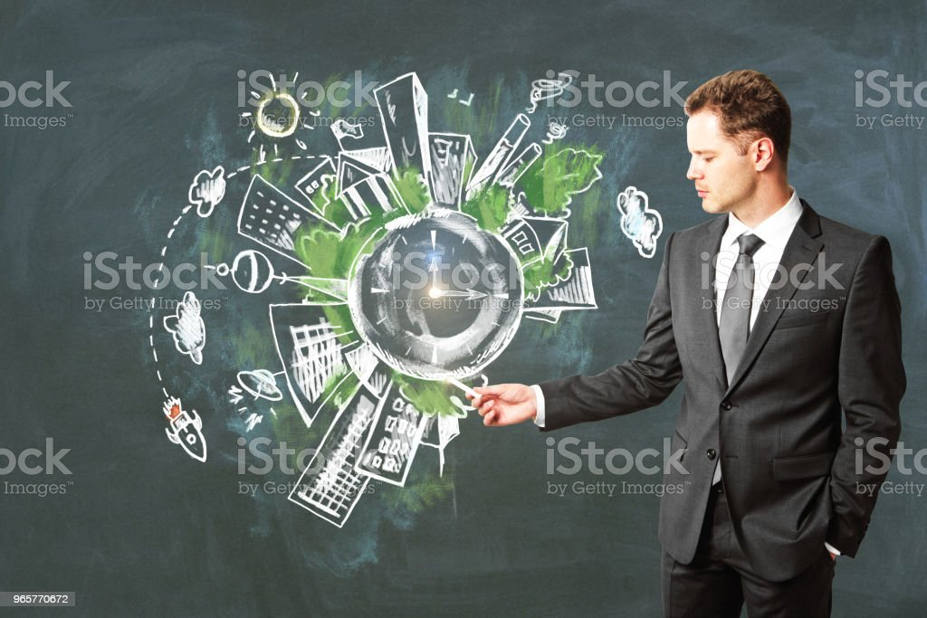 Environment and eco-friendly concept - Royalty-free Adult Stock Photo