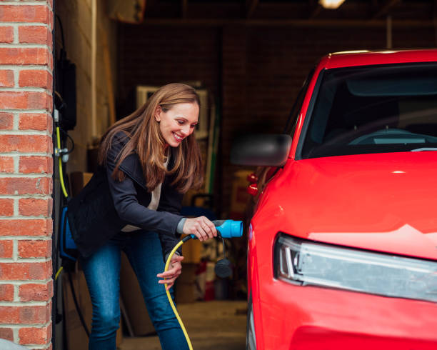 Environment Conscious Car stock photo