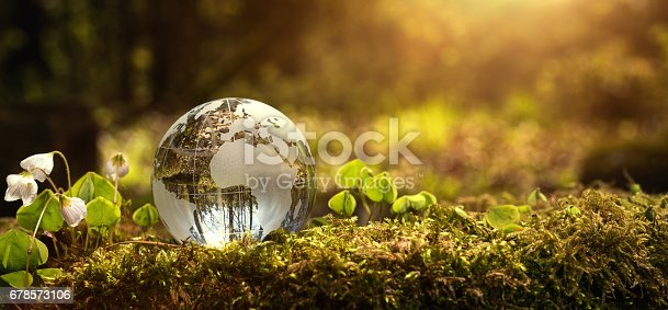 istock Environment conservation concept 678573106