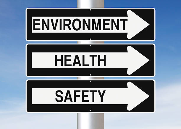 Environment, Health and Safety stock photo