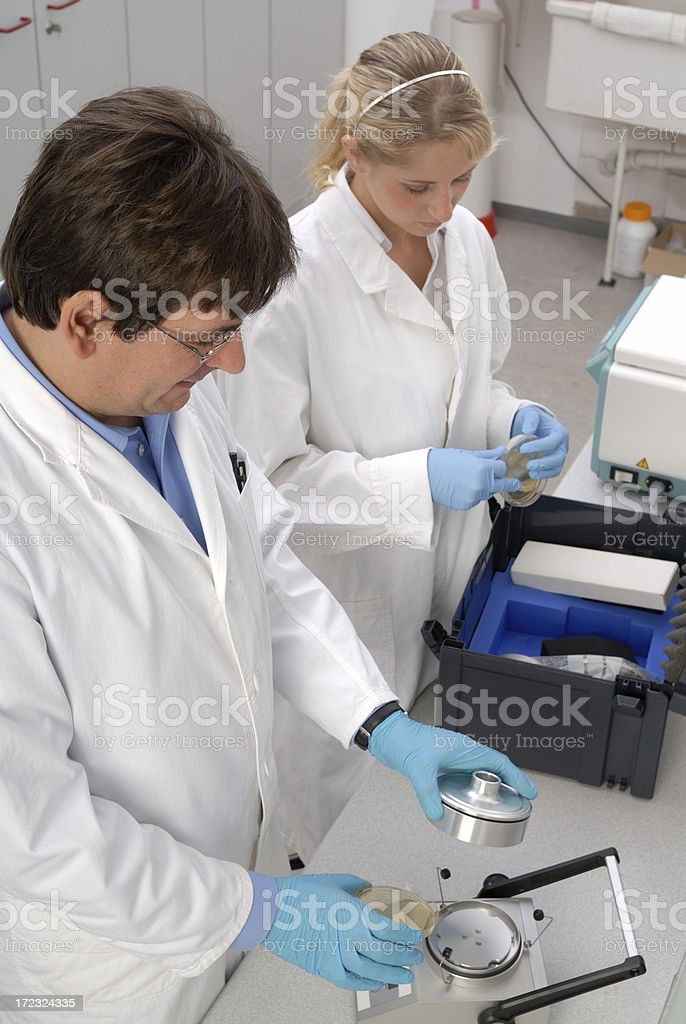 Environment lab royalty-free stock photo