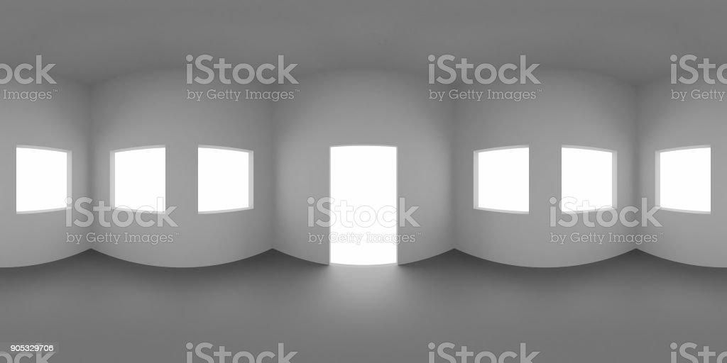 Carte d'environnement HDRI, fond Abstrait panorama sphérique, la lumière source rendu (dessin 3d) - Photo