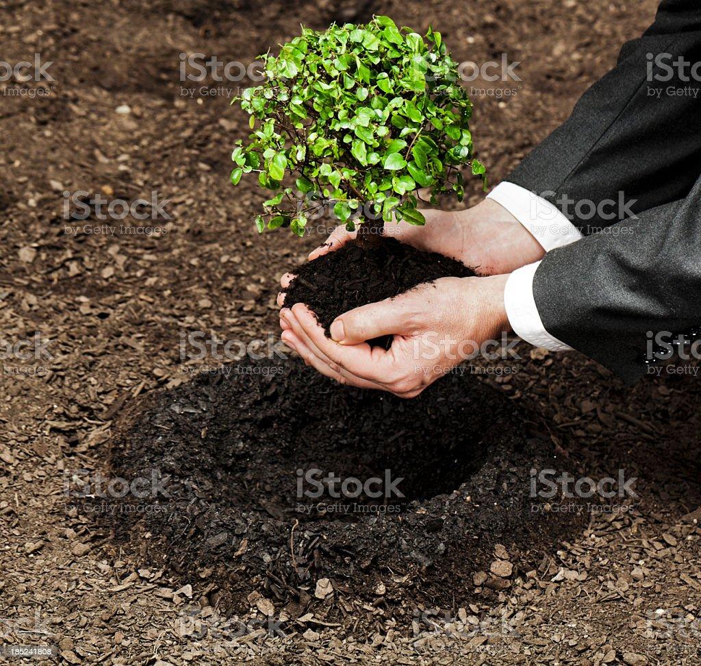 Environment protection royalty-free stock photo