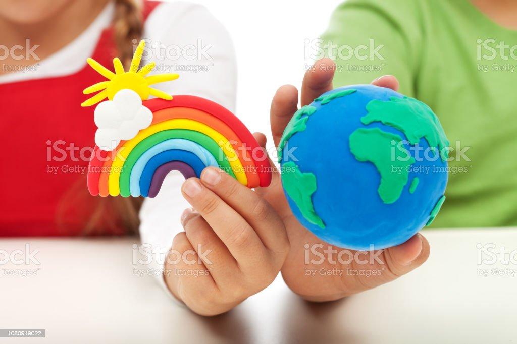 Bewusstseinsbildung und Aufklärung Umweltkonzept – Foto