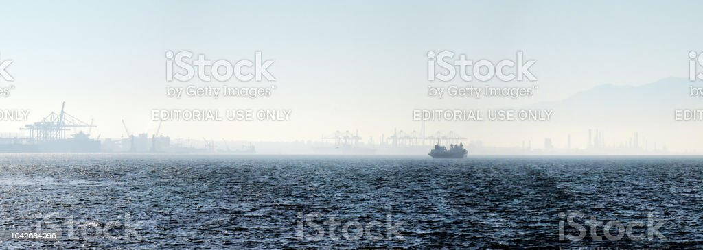 Environmental changes in a negative way. stock photo